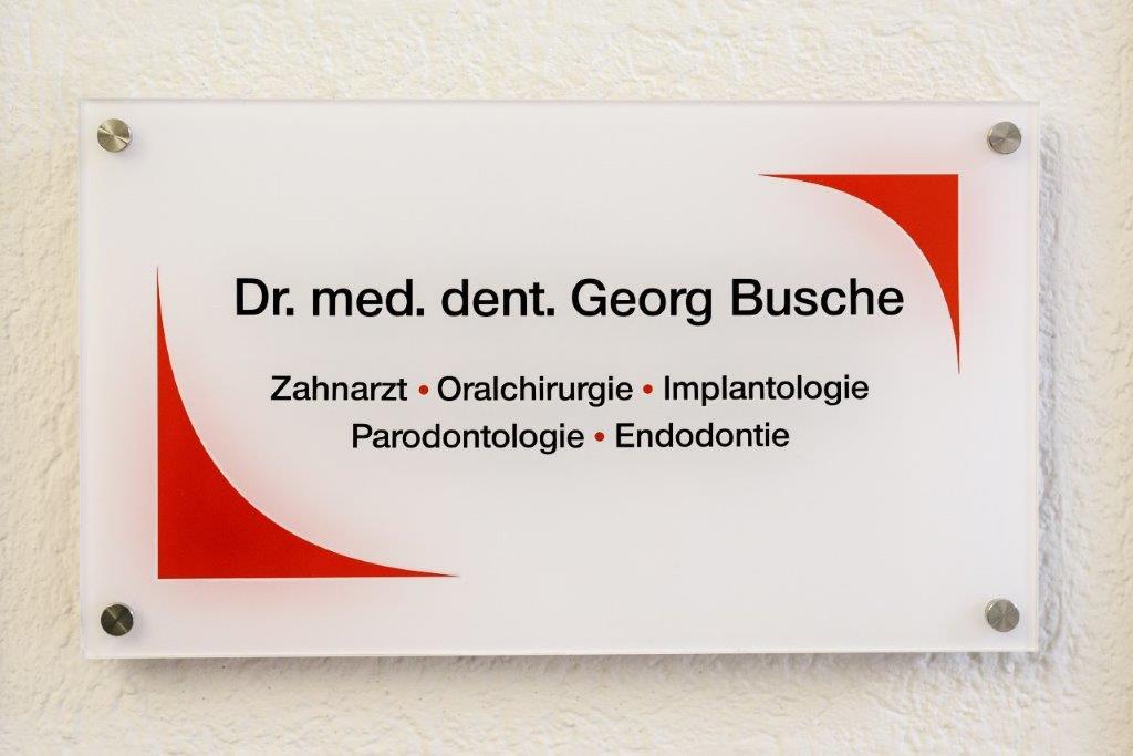 Dr. med. dent. Georg Busche