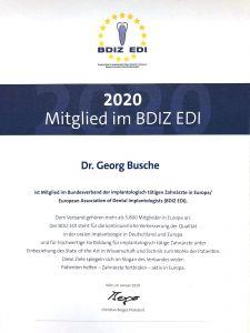 BDIZ EDI Zahnarzt Aachen