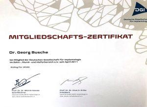 DGI Mitglied Zahnarzt Aachen